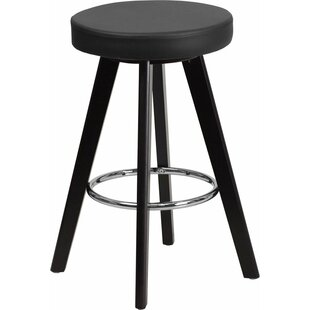 Outen Backless 24'' Bar Stool Wrought Studio
