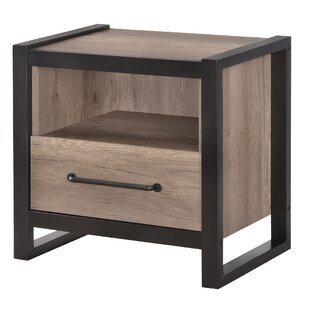 Tavon 1 Drawer Nightstand