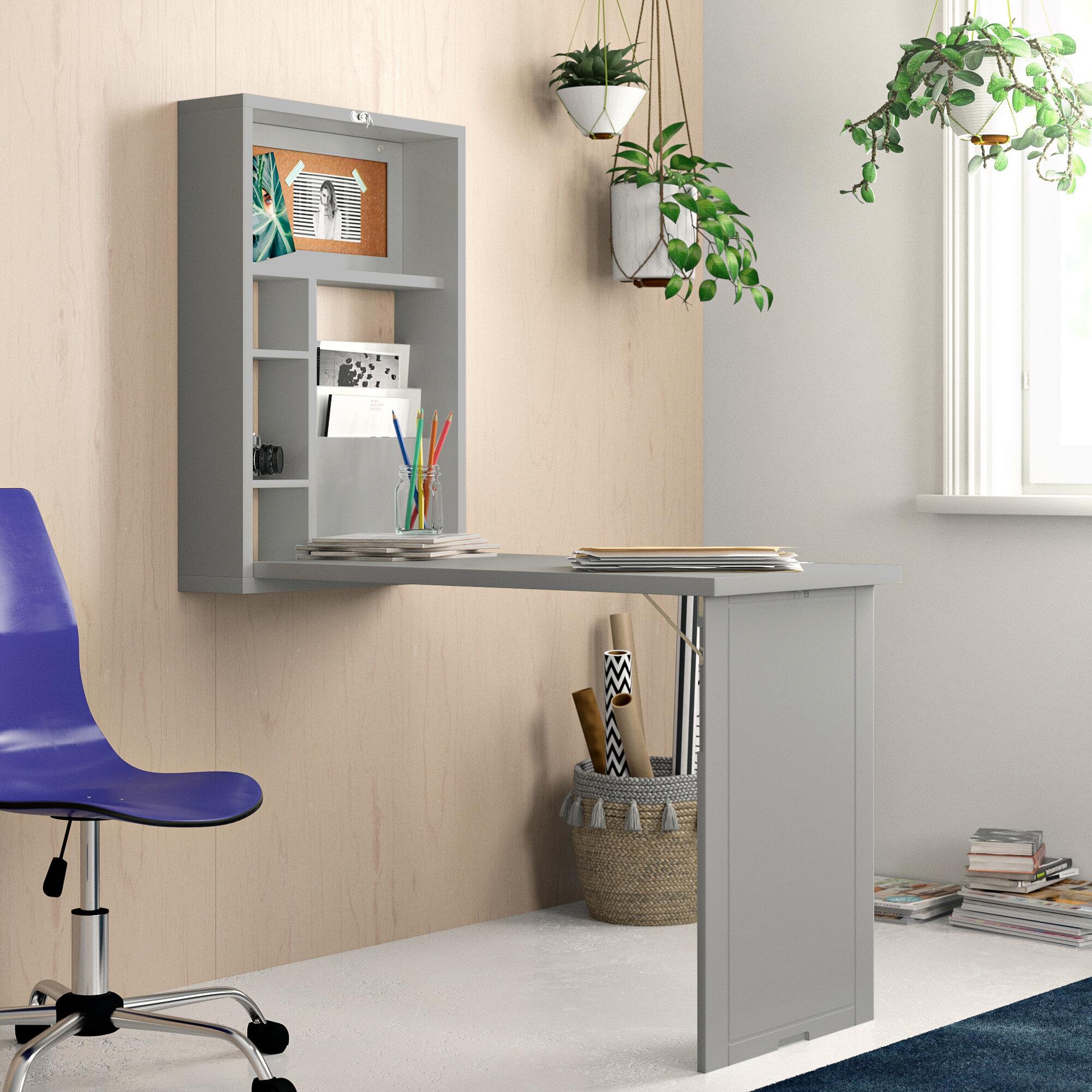 Zipcode Design™ Andersonville Floating Desk & Reviews | Wayfair