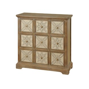 One Allium Way Grenier 9 Drawer Apothecary Chest