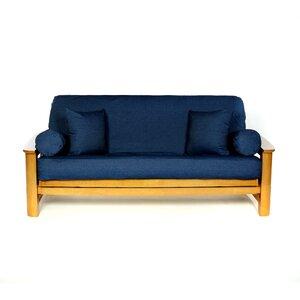 Jean Box Cushion Futon Slipcover