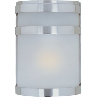 Ebern Designs Louisiana 1-Light Outdoor Flush Mount