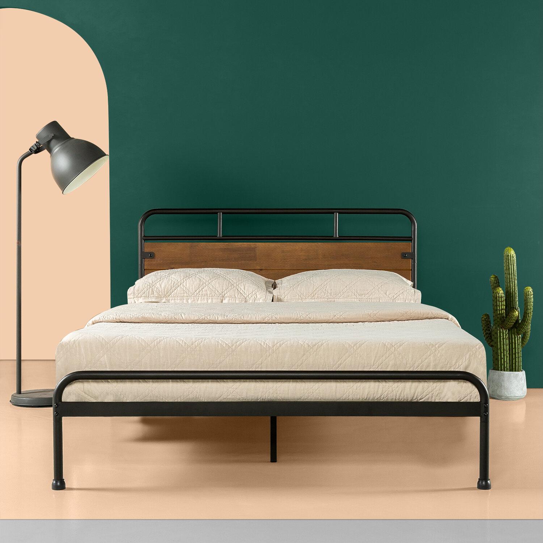 Gracie Oaks Vong Platform Bed Reviews Wayfair