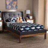 Quarles Upholstered Platform Bed by Trule
