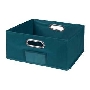 Check Prices Niche Cubo Half-Size Foldable Fabric Storage Bin By Regency