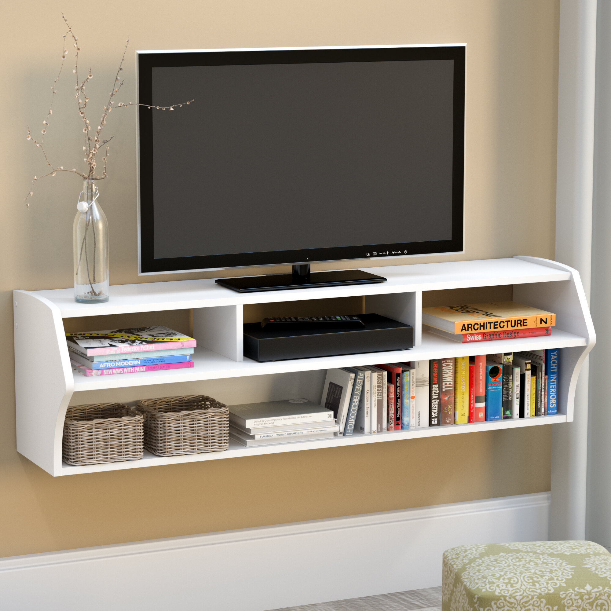 Carder Floating Tv Stand For Tvs Up To 65 Inches