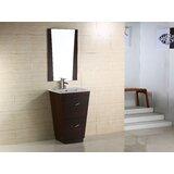 24 Single Modern Bathroom Vanity Set by American Imaginations