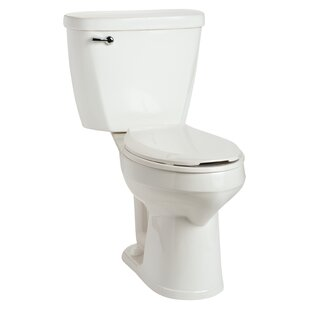 The Protector SmartHeight 1.6 GPF Elongated Two-Piece Toilet (Seat Not Included) by Mansfield Plumbing Products