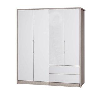 Review Henton 4 Door Wardrobe