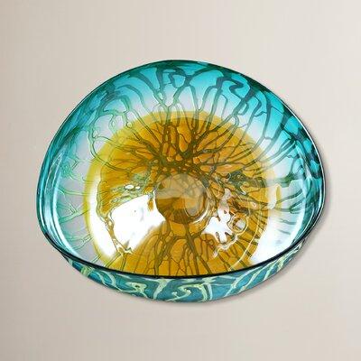 Urban Designs Organic Handmade Glass Plate Wall Décor | Wayfair