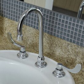 Monterrey Widespread Bathroom Faucet with Less Drain