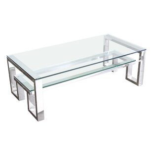 Compare Carlsbad Coffee Table with Magazine Rack by Diamond Sofa