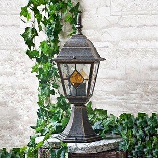 Albert 1-Light Pedestal Light By Marlow Home Co.