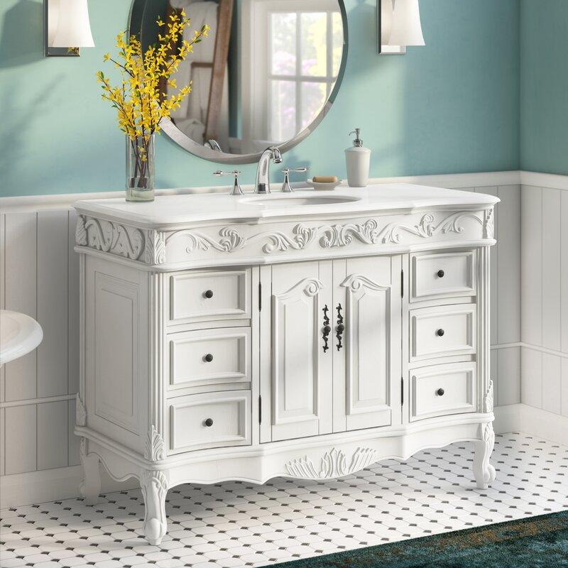 Astoria Grand Ruvalcaba 48 Single Bathroom Vanity Set Reviews Wayfair