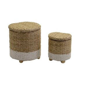 Warren 2 Piece Stool Set By August Grove