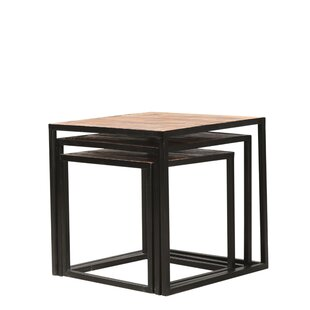 Holmegate Metal 3 Piece Nest Of Tables By 17 Stories