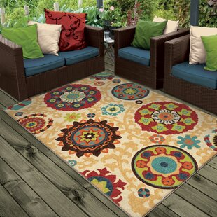 Phelps Beige Indoor/Outdoor Area Rug