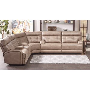Edgerton Reclining Sectional by Red Barrel S..