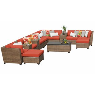 Waterbury 14 Piece Sectional Seating Group with Cushions