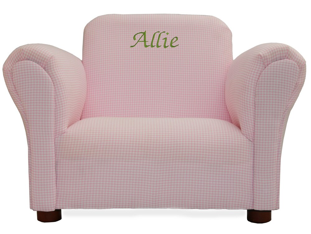Personalized kids chairs sofas personalized kids for Kids seating furniture