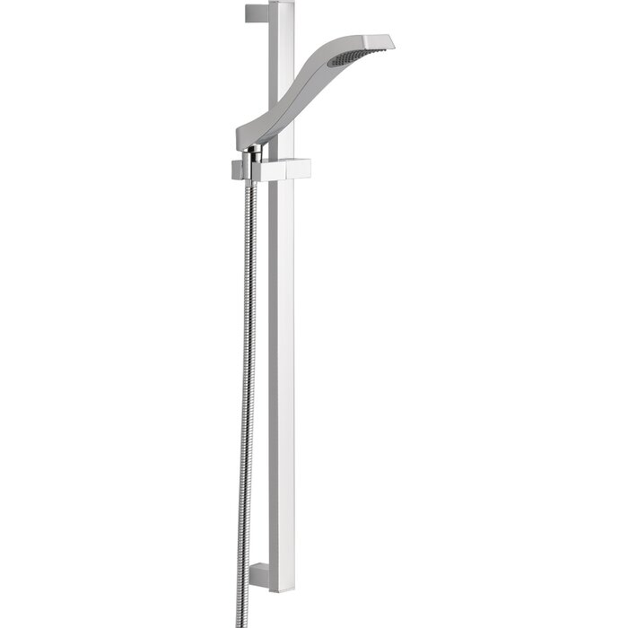 slide shower by in chrome bar shown polished canada s kit showers standard hand tropic american prd