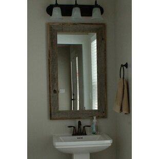 Reviews Trosper Rustic Bathroom/Vanity Mirror ByUnion Rustic