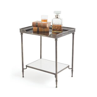 Best Deals Manhasset End Table by Bungalow Rose