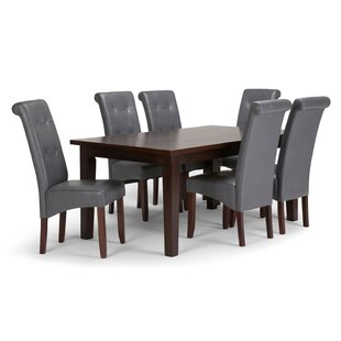 Amador 7 Piece Dining Set by Alcott Hill