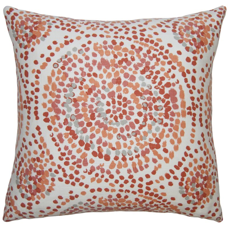 Square Feathers Diego Fancy Pillow Perigold