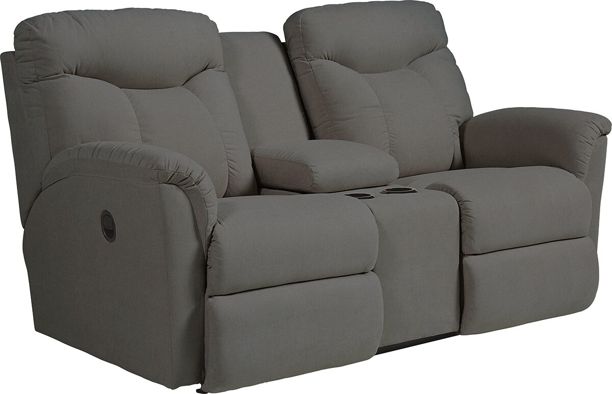 Beautiful Fortune Full Reclining Sofa With Console