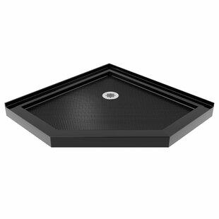 SlimLine 42 inch  x 42 inch  Neo-Angle Single Threshold Shower Base