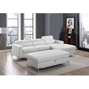 Crotts Storage Sectional with Ottoman