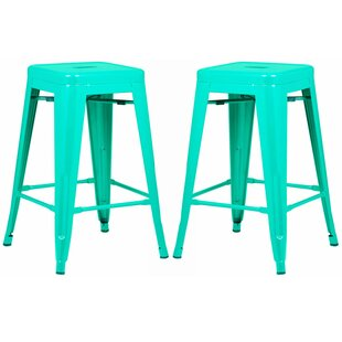 Alyssa 24 Bar Stool (Set of 2) Zipcode Design