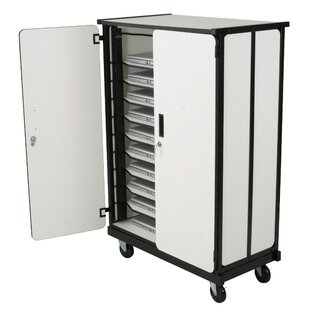 10-Compartment Tablet Storage Cart by Balt