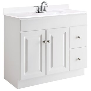 Wyndham 36 Single Bathroom Vanity Base by Design House