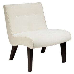 Elvie Velvet Slipper Guest Chair Willa Arlo Interiors