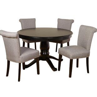 Mercer41 Hubler 5 Piece Dining Set