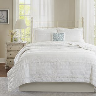 Bridget 4 Piece Reversible Coverlet Set