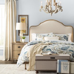 Sten Upholstered Panel Bed by Birch Lane™ Heritage Today Sale Only