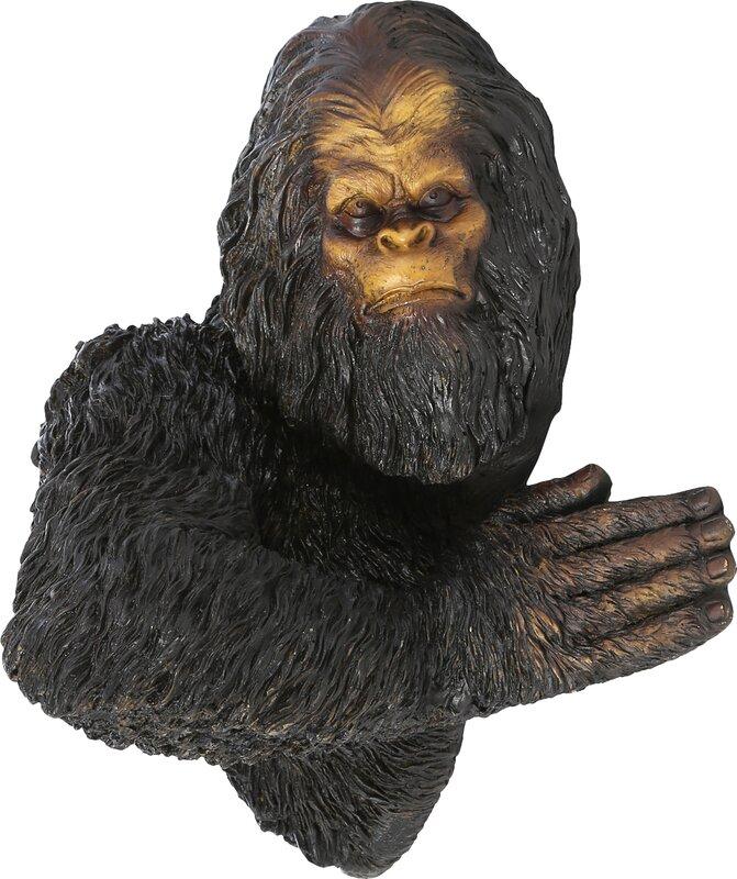 Bigfoot The Bashful Yeti Tree Statue