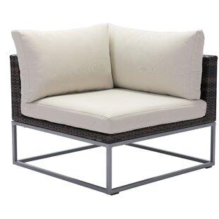 Brayden Studio Hibbard Corner Chair with ..