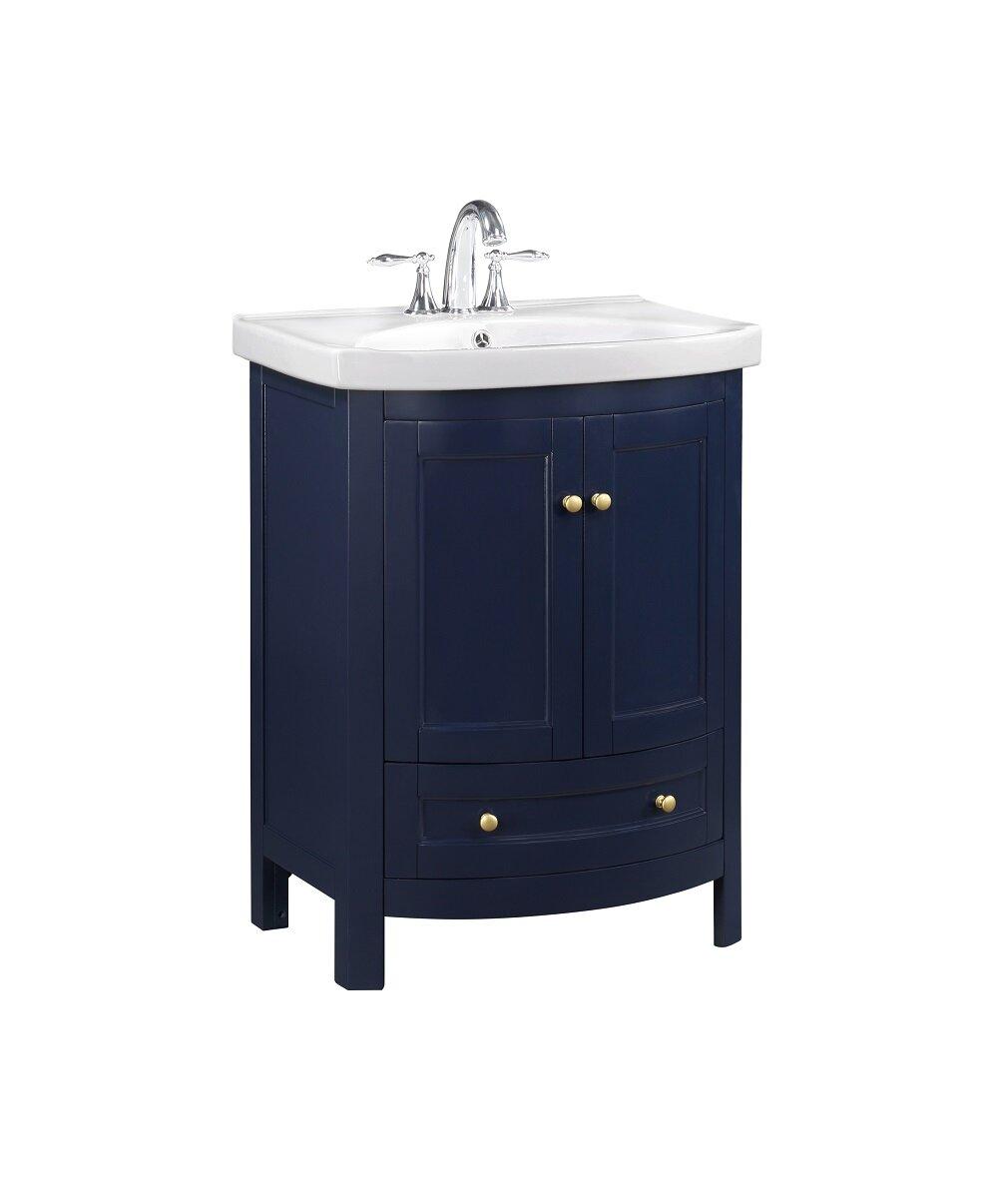 24 Inch Blue Bathroom Vanities Free Shipping Over 35 Wayfair