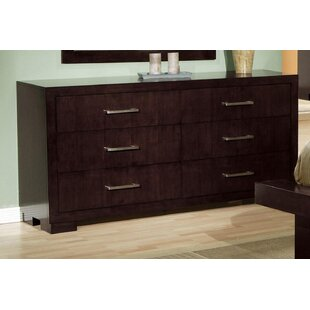 Ebern Designs Hamler 6 Drawer Double Dresser
