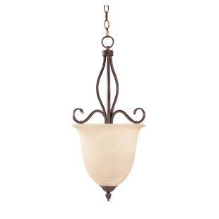 Fleur De Lis Living Ingles Inverted Pendant