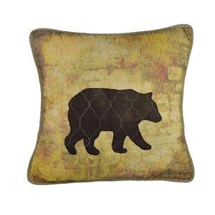 Gannon Bear Cotton Throw Pillow