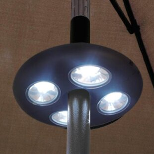 Solon 28 LED Umbrella Clamp Light
