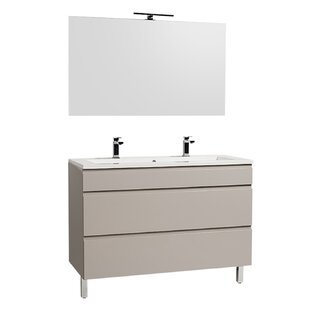 Gammon 1200mm Free-standing Double Vanity Unit By Ebern Designs