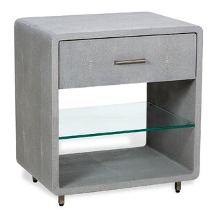 Calypso 1 Drawer Nightstand by Interlude
