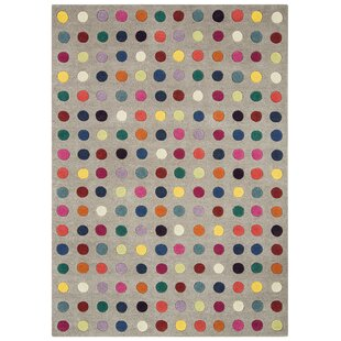 Agathon Hand Tufted Wool Grey Rug by Metro Lane