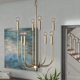 Mercury Row Nyack 8-Light Candle Style Ch..
